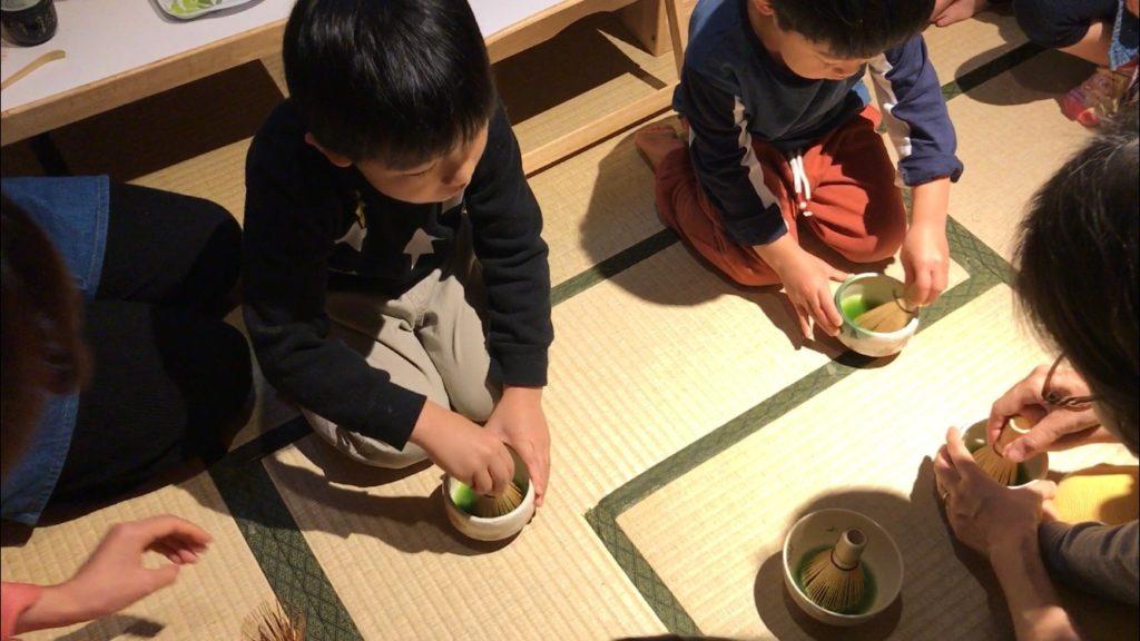 茶道体験保育園幼稚園